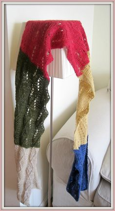 Knitting Scarf Pattern