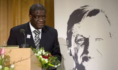 """This has been going on for 16 years!  16 years of errancy; 16 years of torture; 16 years or mutilation; 16 years of the destruction of women, the only vital Congolese resources; 16 years of destruction of an entire society."" - Dr. Denis Mukwege, Congolese advocate for women's rights and long-time ally of the #womensrights movement in DR #Congo. Mukwege was the target of an assassination attempt Oct 25."