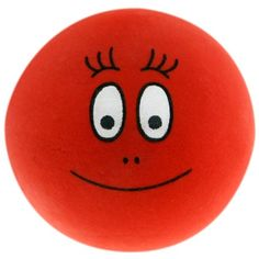 Barbaborre bal (rood) #Barbapapa #barbaborre #bal #voetbal #ballen
