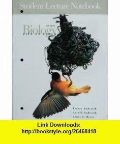 Biology Life On Earth Student Lecture Notebook (9780131001060) teresa audesirk, gerald audesirk, Bruce E. Byers , ISBN-10: 013100106X  , ISBN-13: 978-0131001060 ,  , tutorials , pdf , ebook , torrent , downloads , rapidshare , filesonic , hotfile , megaupload , fileserve