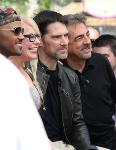 "Joe Mantegna   Joe Mantegna The cast of ""Criminal Minds"" sits down for an ""Extra ..."