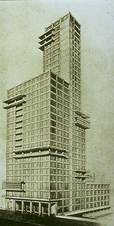 Chicago Tribune Tower (1922) Walter Gropius & Adolf Meyer