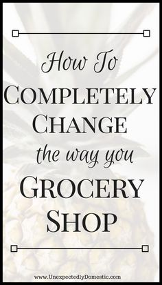 Saving money tips for grocery shopping