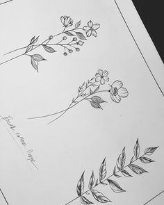 Designed by _________________________________ Cute Tattoos, Flower Tattoos, Black Tattoos, New Tattoos, Small Tattoos, Tatoos, Sketch Ink, Tattoo Sketches, Tattoo Drawings