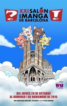 XXI Salón del manga de Barcelona