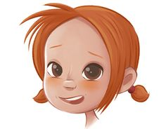"""Check out new work on my @Behance portfolio: """"Little girl character design"""" http://be.net/gallery/34925269/Little-girl-character-design"""