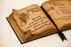 Make your very own spellbook! Thanks Through My Looking Glass!