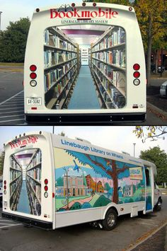 We have a mobile library that visits every second week. :D