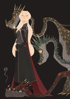 [GOT] characters illustrations on Behance