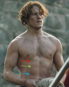 """Outlander Anatomy Anatomy Lesson 16: """"Jamie's Belly"""" or """"Scottish Six-Pack"""""""
