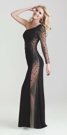 Night Moves 6746 Dress - In Stock - $398