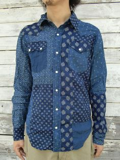 61e7a44c940 WEB SHOP - KAPITAL. Rahul Singh · Men s Denim Shirts