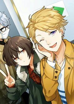 Izumi, Ritsu, & Arashi | Ensemble Stars! Star Character, Hot Anime Boy, Ensemble Stars, Anime Style, Yandere, My Idol, Cool Art, Anime Art, Kawaii