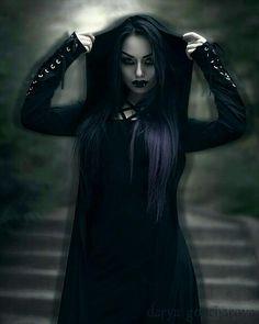 Goth Model ✝ Darya Goncharova ✝
