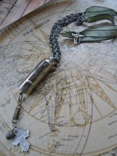 bower's necklace by ljctree on Etsy, $45.00