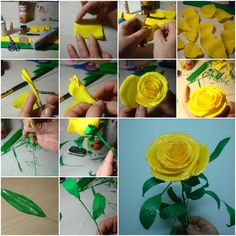 How to make Handmade Rose flower arrangements step by step DIY tutorial instructions, How to, how to do, diy instructions, crafts, do it yourself, diy website, art project ideas