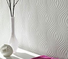 modern wallpaper in silver design by york wallcoverings burke decor wallpapers pinterest. Black Bedroom Furniture Sets. Home Design Ideas