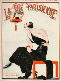 Image detail for -Hoodoo That Voodoo, La Vie Parisienne, 1922. Rene Vincent