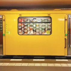 Berlin, U-bahn U Bahn, Jukebox, Suitcase, Briefcase