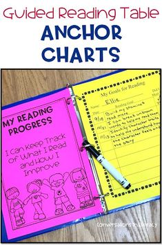Tips for Using Miniature Anchor Charts at the Guided Reading Table during small groups #guidedreading #anchorcharts #comprehension kindergarten, first grade, second grade, third grade, fourth grade