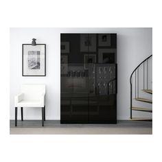 best vitrine grau las nussbaumnachb selsviken hochglanz klarglas wei schubladenschiene. Black Bedroom Furniture Sets. Home Design Ideas