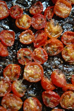 How to Freeze Herb Roasted Cherry Tomatoes