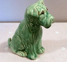 1950s Ceramic Dog by Price Brothers, England by DeeGeeRetro on Etsy