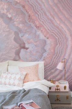 Crystal Wall Murals: Escape the hectic nature of daily life by immersing yourself in the tranquil auræ and hushed ambience of a serene, personal sanctuary built to soothe the mind. Inspired by the balance and healing that
