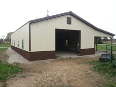Welcome to National Barn Company, Pole Barns, Horse Barns, Best Priced Post-Frame Buildings Diy Pole Barn, Pole Barns, Pole Buildings, Shop Buildings, Post Frame Building, Barn Shop, Farming Life, Barn Garage, Barns Sheds