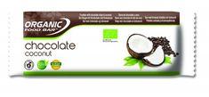 Organic Food Bar - Chocolate Coconut, BIO - 12 x Riegel Organic Food Bar, Organic Recipes, Coconut, Happy Foods, Chips, Products, Foods, Potato Chip, Potato Chips