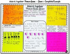 Math Problem-Solving Collaborative Activity for 4th Grade