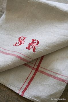 French Linen towel