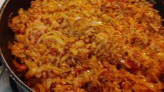 Cabbage Jambalaya (Weisskohl mit Reis)