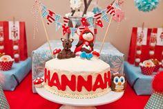bolo festa infantil chapeuzinho vermelho