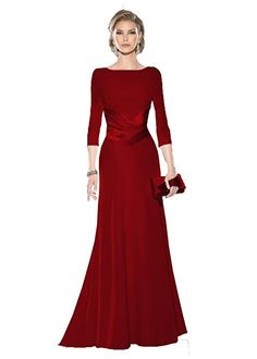 online shopping for Kelaixiang Mother The Bride Dress Wedding Evening Formal Gowns Sleeves from top store. See new offer for Kelaixiang Mother The Bride Dress Wedding Evening Formal Gowns Sleeves Long Mothers Dress, Mother Of Groom Dresses, Mothers Dresses, Mother Of The Bride, Bride Dresses, Evening Gowns With Sleeves, Evening Dresses, Formal Wear Women, Feminine Dress