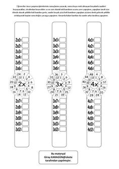 Not sure what language this is, but the setup is great for learning multiplication. Math For Kids, Fun Math, Math Games, Math Activities, Learning Multiplication, Multiplication Strategies, Teaching Math, Math Worksheets, Teaching Resources