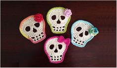 Cute Sculls to Crochet