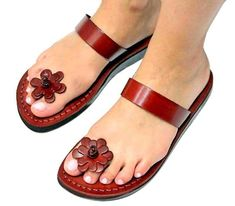 Holy Land Sandals 41 The new flower sandals from Camel Sandals- Fine quality Leather. European ladies sizes from 35 to (American sizes -Ladies- from size 5 to size Colors- brown, black, caramel. Camel Sandals, Brown Leather Sandals, Brown Sandals, Gladiator Sandals, Leather Shoes, New Shoes, Women's Shoes, Dance Shoes, Shoes