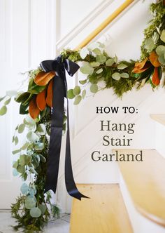 How do you hang garland on the stairs for Christmas? With the right tools and materials, you can easily add staircase garland to your Christmas decor.