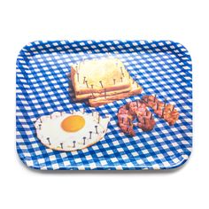 Maurizio Cattelan and Pierpaolo Ferrari Breakfast Tray Moma Store, Melamine Tray, Breakfast Tray, Fine Art Photo, Decorative Objects, Home And Living, Food Art, Holiday Gifts, Ferrari