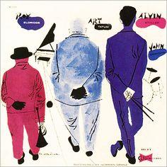 David Stone Martin - jazz album covers : デザイン インスピレーションに即効!クールなLP アルバム ジャケットを集めたサイト - NAVER まとめ