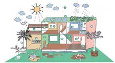 Cartilha ensina como construir de forma sustentável