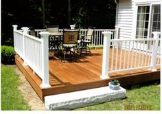 Ipe Decking vs. Pressure Treated Pine Decking. See how Ipe hardwood decking compares to pressure treated decking.