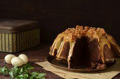 babka czekoladowa piaskowa z krówkami Fudge, Tiramisu, Pudding, Ethnic Recipes, Blog, Dulce De Leche, Diet, Custard Pudding, Puddings