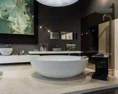 A new concept from Alexandra Schafer of Velvenoir and Jurgen Hamberger of Steininger Designs brings fine art to real interior design spaces. Art Advisor, London Art, Can Design, Beautiful Bathrooms, Beautiful Space, Lovers Art, Contemporary Art, Inspiration, Interior Design