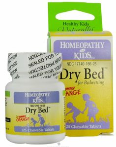 "Homeopathy for Kids - ""Dry Bed"" 125 chewable tablets (excellent bed-wetting treatment for kids) Orange Bedding, Bed Wetting, Homeopathy, Serving Size, Healthy Kids, Herbalism, Vitamins, Nutrition, Personal Care"
