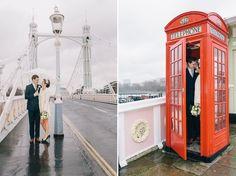 Intimate but beautiful Rainy Chelsea London Wedding