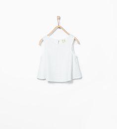 ZARA - ÚLTIMA SEMANA - Camiseta bordado