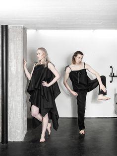 UNISEX fashion, LAURIJARVINENSTUDIO Eco Friendly Fashion, Unisex Fashion, Black Fabric, That Look, Ballet Skirt, Skirts, Unique, Collection, Style