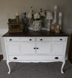 {createinspire}: How I Paint Furniture.  Very detailed instructions on painting including all the products she uses.